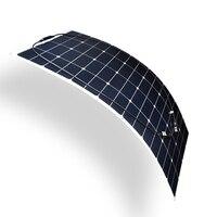 Гибкая солнечная панель Sun солнечные панели 100 Вт 18 в легкая солнечная мощность pannello солнечная для 12 В fotovoltaica батарея