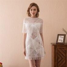 2018 Beautiful Cut Out Wedding Dresses Beach Tulle Mini