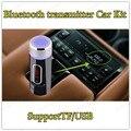 mini Bluetooth Car Kit Bluetooth MP3 Player SupportTF/USB MP3 player  Bluetooth FM transmitter