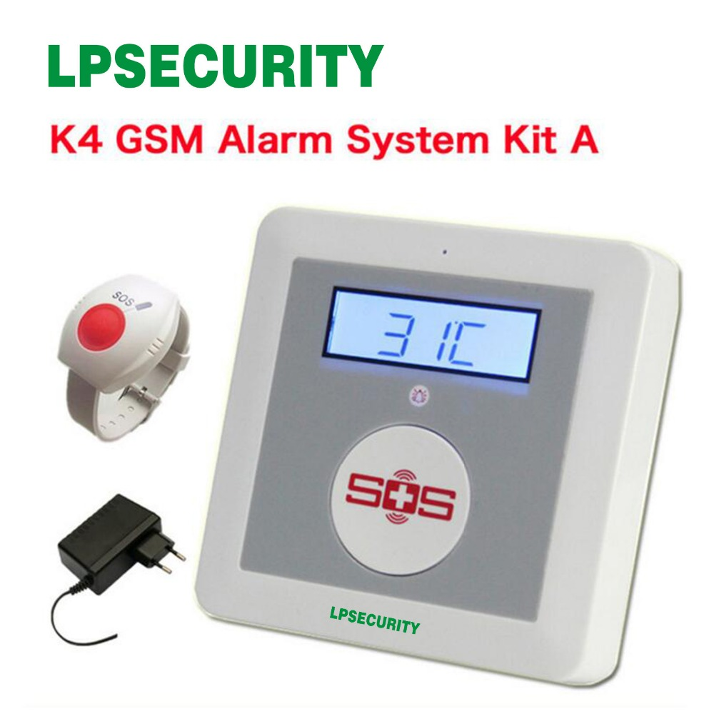 medicine elderly care phone K4 emergency medical call with panic button for the senior call|call|call phone|call button - title=