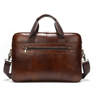 Image 3 - MVA mens briefcase/genuine Leather messenger bag men leather/business male laptop office bags for men briefcases mens bag 8824