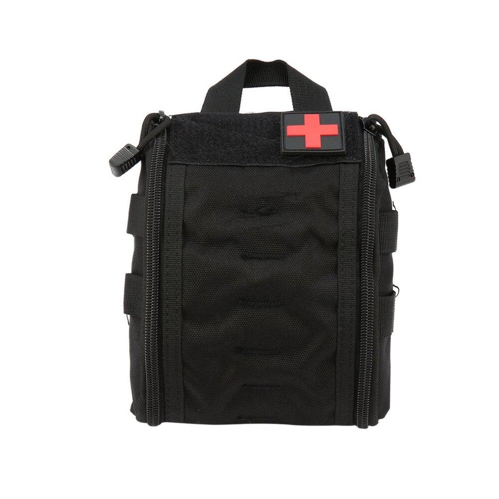Arbeitsplatz Sicherheit Liefert Im Freien Camping Pille Medizin Lagerung Tasche Reise Erste Hilfe Fall Notfall Kit Sicherheitsgurt