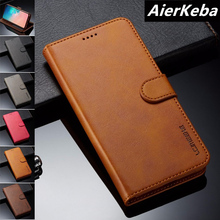 Luxury leather Case For Samsung Galaxy S10 Pus S10e S9 S9+ S8 S7 edge A10-A80 With Retro Leather Flip Phone Wallet