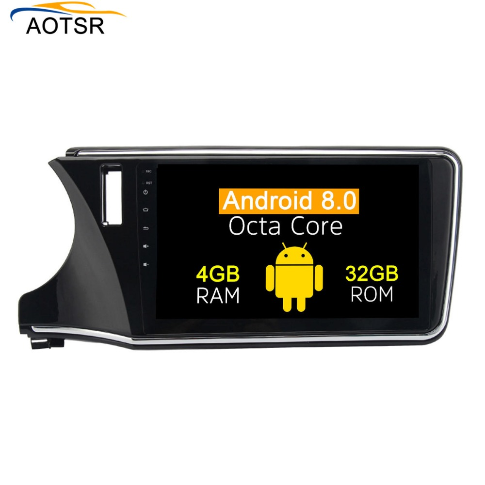 2 <font><b>din</b></font> <font><b>Android</b></font> <font><b>8.0</b></font> <font><b>Car</b></font> multimedia player Radio head unit For Honda City 2015+ gps navigation <font><b>Stereo</b></font> carno dvd player 8 core 4+32G image