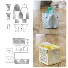 Christams Gift Candy Box Metal Cutting Dies for Scrapbooking DIY Album Paper Cards Craft Decorative Embossing Stencils New 2019 колготки glamour prestige 40 daino