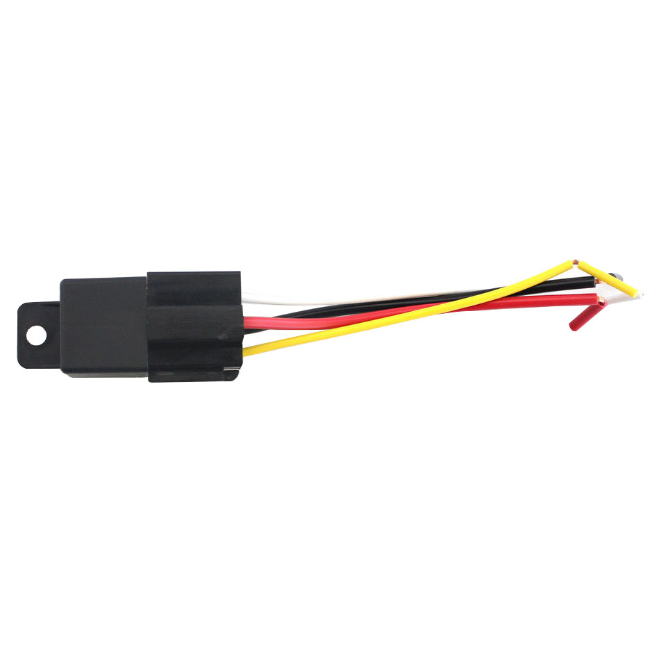 small resolution of 1 piece hot 40a 12v 5 prong car relay with wiring harness socket car alarm automotive black new arrival veb88 p10 in relays from home improvement on