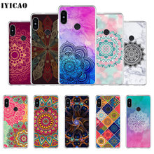 IYICAO Mandala bloem Zachte Siliconen Telefoon Case voor Xiaomi Redmi 4A 5A 6A Note 7 6 5 Pro Plus Redmi 4X 5A Prime Cover(China)