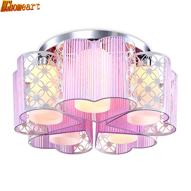 Aliexpress.com : Buy Romantic Heart shaped Ceiling Lamp LED Master ...