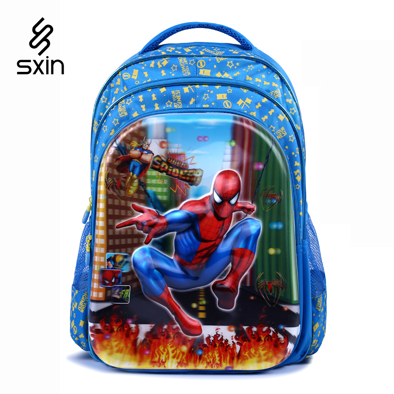 Spider Man 5D Pupils Backpack Children School Bag for Boy Cartoon Schoolbag Student School Backpack Kid Mochila Infantil
