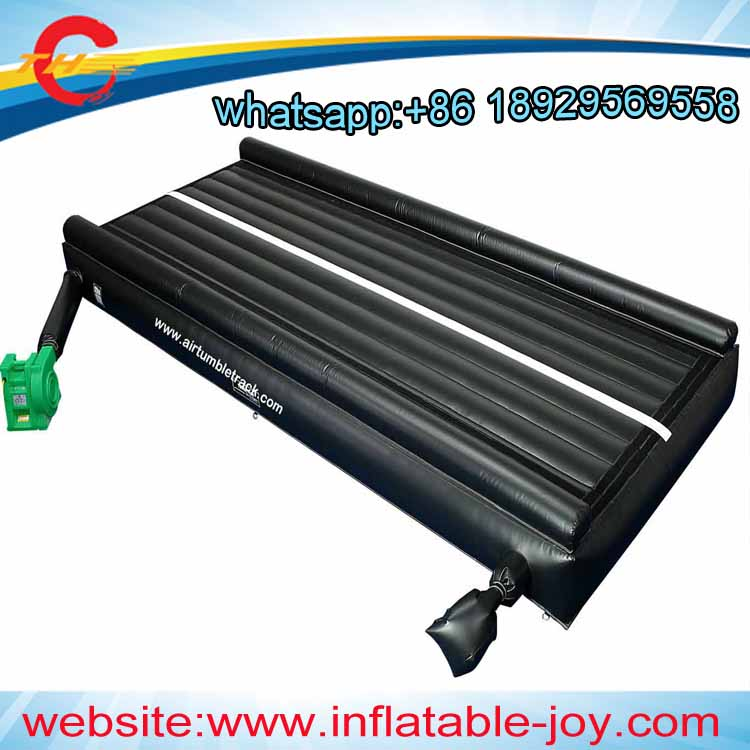 free air shipping to door,6x3x0.65mH Inflatable Gym Air Tumble Track for Train Protect-in