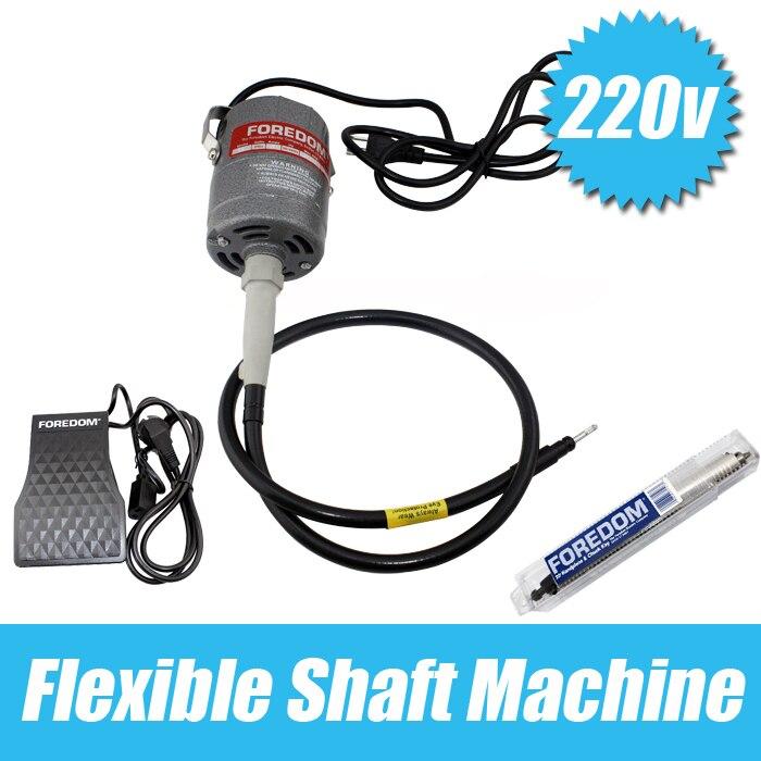 Livraison Gratuite goldsmith outils orfèvre de polissage Moteur 220 V 24000 rpm Foredom Flex Arbre Moteur bijoux outils & équipement