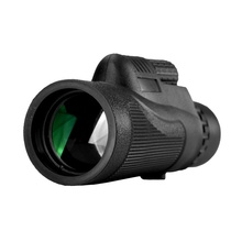 12×50 single cylinder Monocular Telescope HD Night Vision Prism Scope with Phone Clip Tripod Waterproof Binoculars for hunting