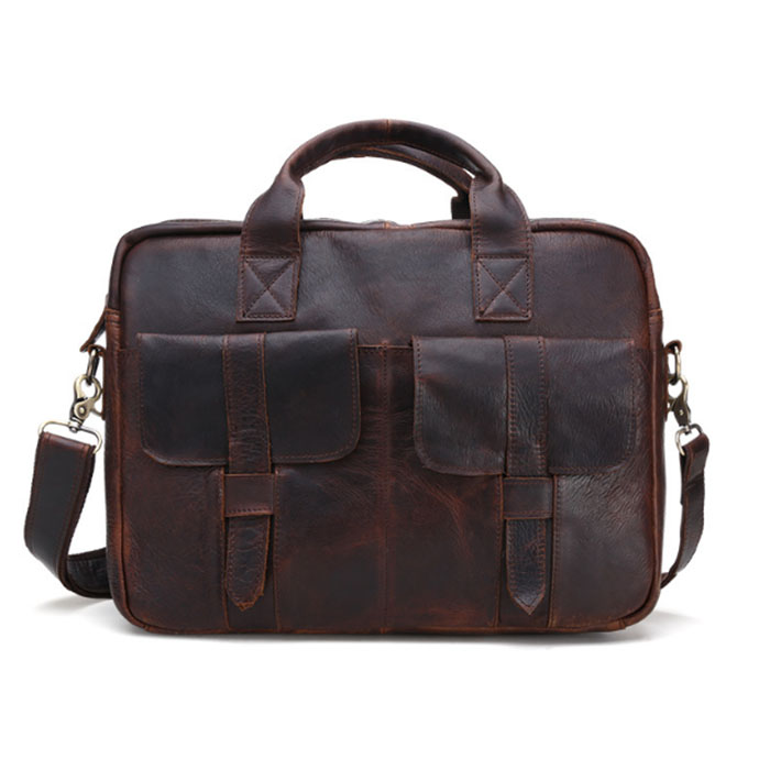 Genuine leather handbags messenger bag men leather Shoulder bag Tablets crossbody bags designer Men Briefcase male bag Khaki top power men bag fashion genuine leather men crossbody shoulder handbags men s briefcase men bags double bag messenger bag male