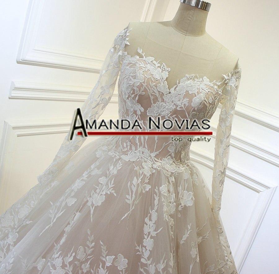 vestido de noiva Real Photos Amanda Noivas Luxury Ball Gown Unique ...