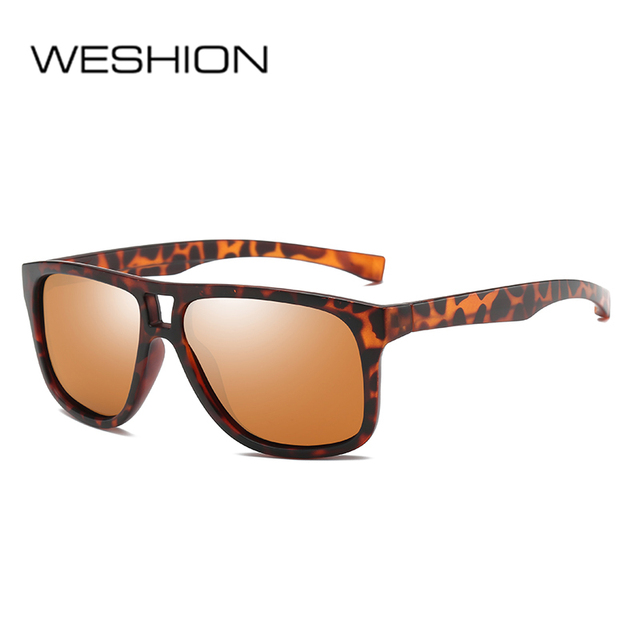 dcf45fd087e WESHION Sport Men Sun Glasses Polarized Women Brand Designer Vintage Luxury  Night VIsion Sunglass Classic Shades Man Woman UV400
