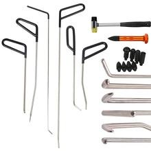 Набор инструментов PDR для ремонта дверей, ремонтных работ с 9 головками, алюминиевый кран, молоток, безболезненное удаление вмятин