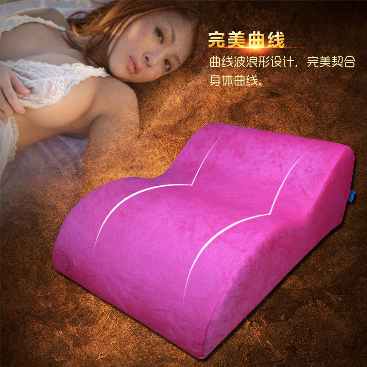 Sex Sofa chair sex toys for couples, adult sex furniture sex position pillow Bed erotic toys. factory direct red color sex chair wedge 2 piece triangle sponge pad adult pillows sex cube sofa bed diy sex furniture