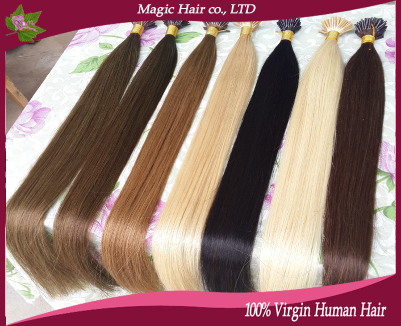 I tip human hair extensions keratin human straight blonde hair i tip human hair extensions keratin human straight blonde hair strands of hair extension 1gstrand 100gpack factory outlet 6a in fusion hair extensions pmusecretfo Image collections