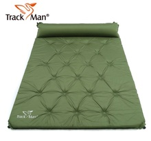 2 Person Automatic Inflatable Mattress Outdoor Camping Mat Pad Self-Inflating Moistureproof Picnic Tent Mat with Pillow