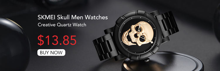 9178 skull watch men