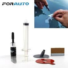 FORAUTO 1Pcs Auto Windschutzscheibe Glas Reparatur Kit Tool Für Chip Riss Sterne Bullseye Werkzeuge Set