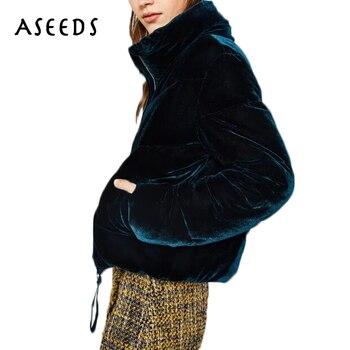 chaqueta oversized invierno abrigo otoñal cálido mujeres Faux Velvet xE7HqZWv