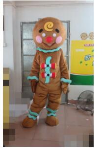 Marron drôle poupée mascotte Costume de noël fantaisie robe Halloween mascotte Costume livraison gratuite