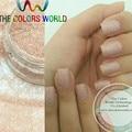 TCH601 0.2 MM Tamaño 008 Mate Colores Rosa Claro polvo fino brillo para el Arte del clavo u otros DIY decoración