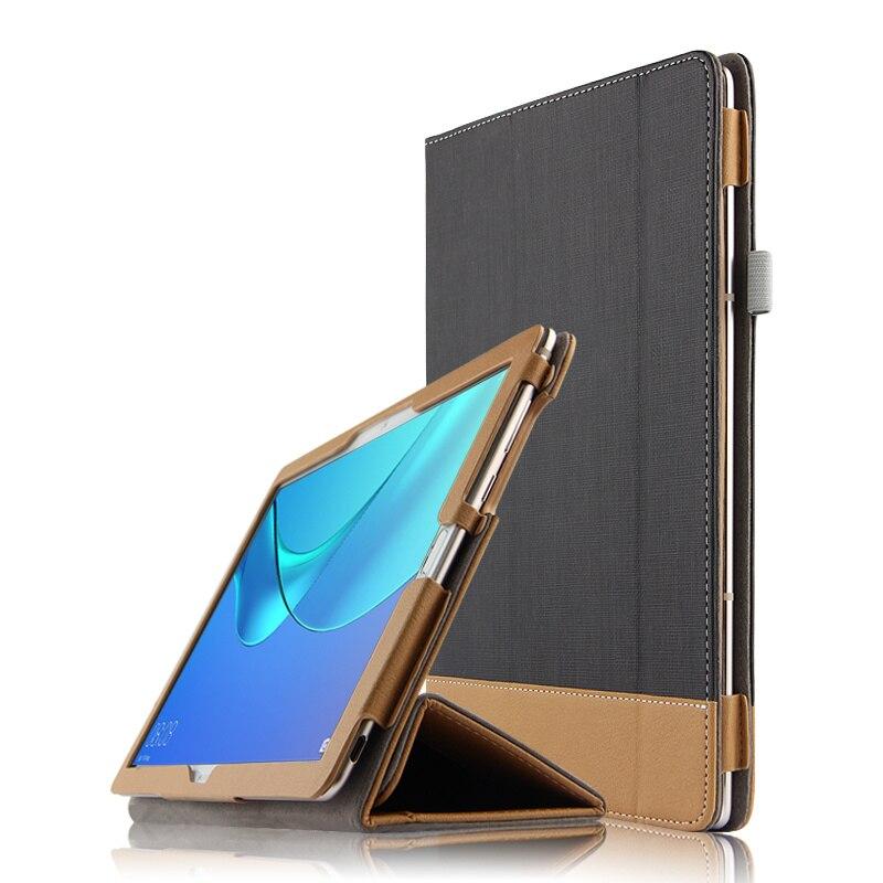 Per Huawei MediaPad M5 10.8 CMR-AL09 W09 Caso Della Copertura Protettiva Cuoio DELL'UNITÀ di elaborazione Media pad M5 10.8 10 Pro M5 10.8