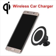 Universal Car Qi Wireless Charger Sticky Phone Holder Mount Wireless Charging Pad for iPhone 6 6s Plus Samsung S7/S6 Lumia 950