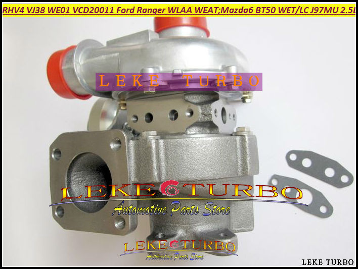 Free Ship Turbo RHV4 VJ38 WE01 WE01F VCD20011 Turbocharger For FORD Ranger WLAA WEAT For MAZDA 6 BT50 BT-50 WET WLC J97MU 2.5L free ship rhv4 vj38 we01 we01f ved20011 ved20021 vgd20011 turbo for ford ranger wlaa weat for mazda 6 bt50 we t wl c j97mu 2 5l