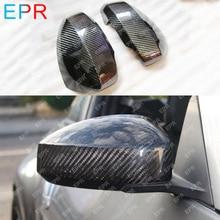 Для Nissan 350Z Z33 зеркальное покрытие из углеродного волокна тела комплект стайлинга автомобилей авто тюнинг часть для 350Z Зеркало Обложка