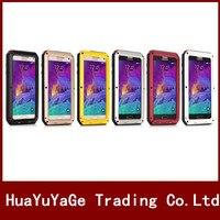 Telefoon gevallen Krachtige Metal Cover Voor Galacy S5 I9600 Aluminium Vuil Waterdichte Shockproof Case voor Samsung Galaxy S4 I9600 S5