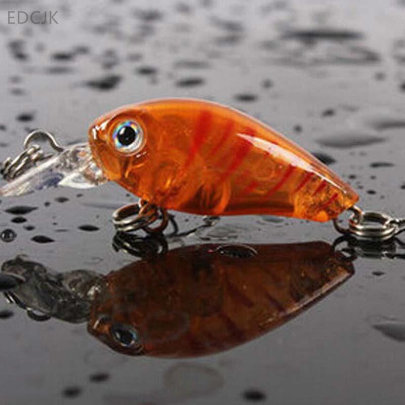 Fishing Lure Tackle Carp Mini Crankbait Wobbler Swim Bait Plastic Hard Bait Lures Isca Artificial 3D Fish Hook Wobbler Hooks Sea