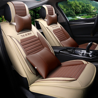 Car Styling Leather Seat Covers For Dodge Viper JCUV Caliber Avenger Charger Durango Nitro Ram Truck