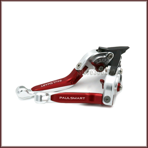 For DUCATI PAUL SMART LE 2006 Motorcycle Accessories Folding Extendable Adjustable Brakes Clutch Levers With LOGO PAULSMART CNC(China)