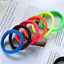 Hairdressing Tools Rubber Band Hair Ties/Ropes Elasticity Ponytail Holders Hair Accessories Elastic Hair Bands Women 10PCS~80PCS