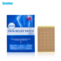 96pcs 12Bags Sumifun Pain Relief Patch Strain Sprain Muscle Neck Back Shoulder Pain Plaster Body Massage