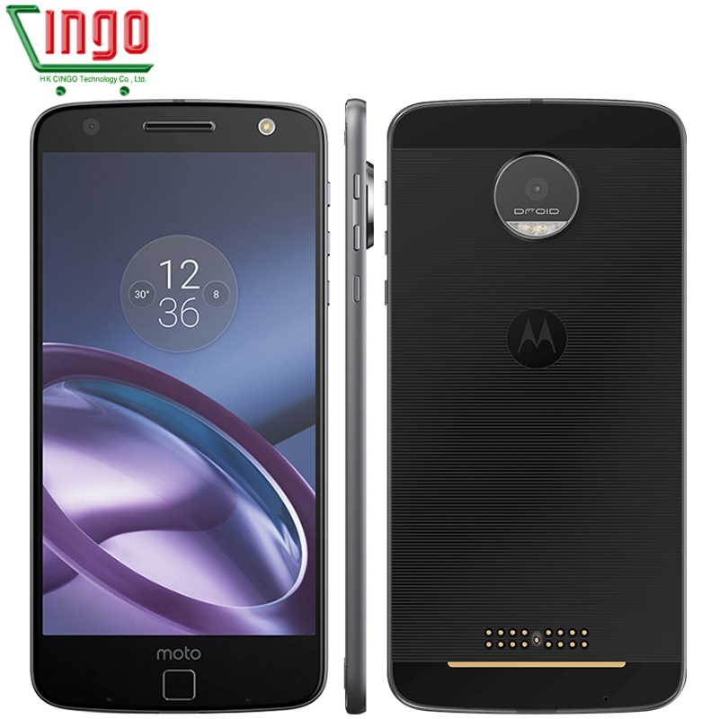 Цена за Motorola moto z xt1650 05 4 ГБ ram 64 ГБ rom 4 г lte 5.5 дюймов android 6.0 quad core 5.0mp 13.0mp 1920*1080 смартфон