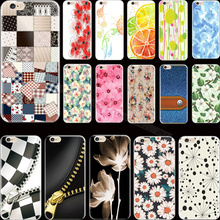 Newest Fashion Painting Flowers Silicon Phone Cases For Apple iPhone 6 iPhone 6S iPhone6 iPhone6S Case Cover Shell PHV VFC VCF G
