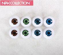 24 MM 1par av skyddsögon Arcylic Doll Eyeball Fit för 28 tums Reborn Baby Doll Kit Leksaker 4 Olika färger kan väljas