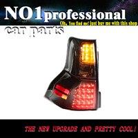 OUMIAO автомобиль фонарь для Land Cruiser FJ150 Prado 2700 светодиодный задние фонари год 2009 2016 Smoke красный цвет