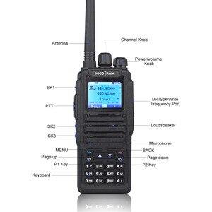 Image 3 - Dual Band Digital walkie talkie DM 1701 DMR Two way radio Ham Amateur Radio dual time slot Tier II ( dm 5r plus upgrade version)