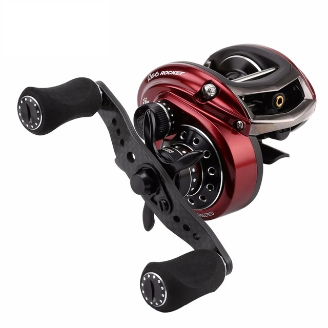 RVO3 ROCKET III Right Left Hand 10+1 BB Baitcasting Fishing Reel 9.0:1 Bait Casting Fishing Gear Drum Reel new 12bb left right handle drum saltwater fishing reel baitcasting saltwater sea fishing reels bait casting cast drum wheel