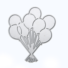 Lovely Balloons Cutting Dies Stencils for DIY Scrapbooking/photo album Decorative Embossing DIY Paper Cards