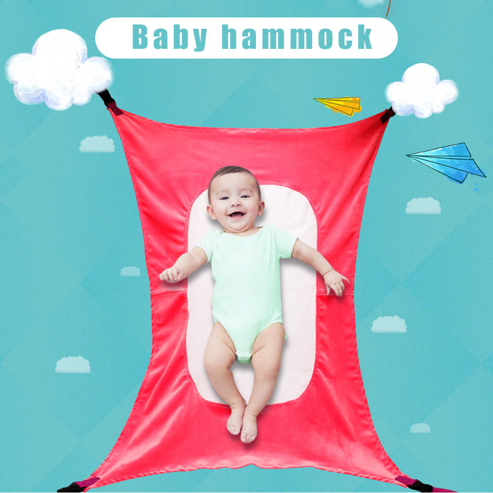 Baby Infant Hammock Home Outdoor Detachable Portable Comfortable Bed Kit Camping Baby Hanging Sleeping Bed Baby Swings