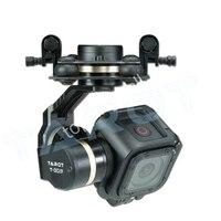 Таро TL3T02 GOPRO T 3D IV 3 оси HERO4 сеанса Камера бесщеточный карданный PTZ для FPV Quadcopter Drone Multicopter скидка 50%