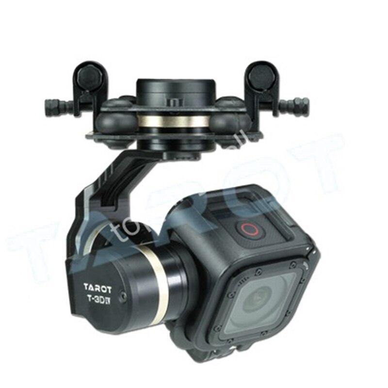 Tarot TL3T02 GOPRO T-3D IV 3 axes HERO4 SESSION caméra sans balai cardan PTZ pour FPV quadrirotor Drone Multicopter 50% de réduction