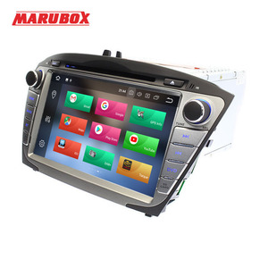 Image 4 - Marubox 2Din Android 9 4GB RAM สำหรับ HYUNDAI ix35 Tucson 2009 2014 วิทยุสเตอริโอ GPS Navi รถ DVD เครื่องเล่นมัลติมีเดีย 8A301PX5