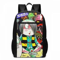 Gegege No Kitaro Backpack GeGeGe Yokai Manga Tribute Backpacks Men Women Student Bag Shopper Print High quality Bags